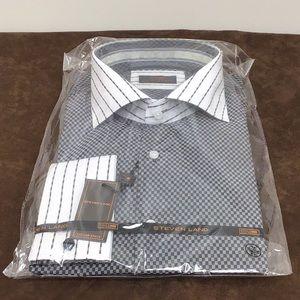 Steven Land Cufflink Dress Shirt